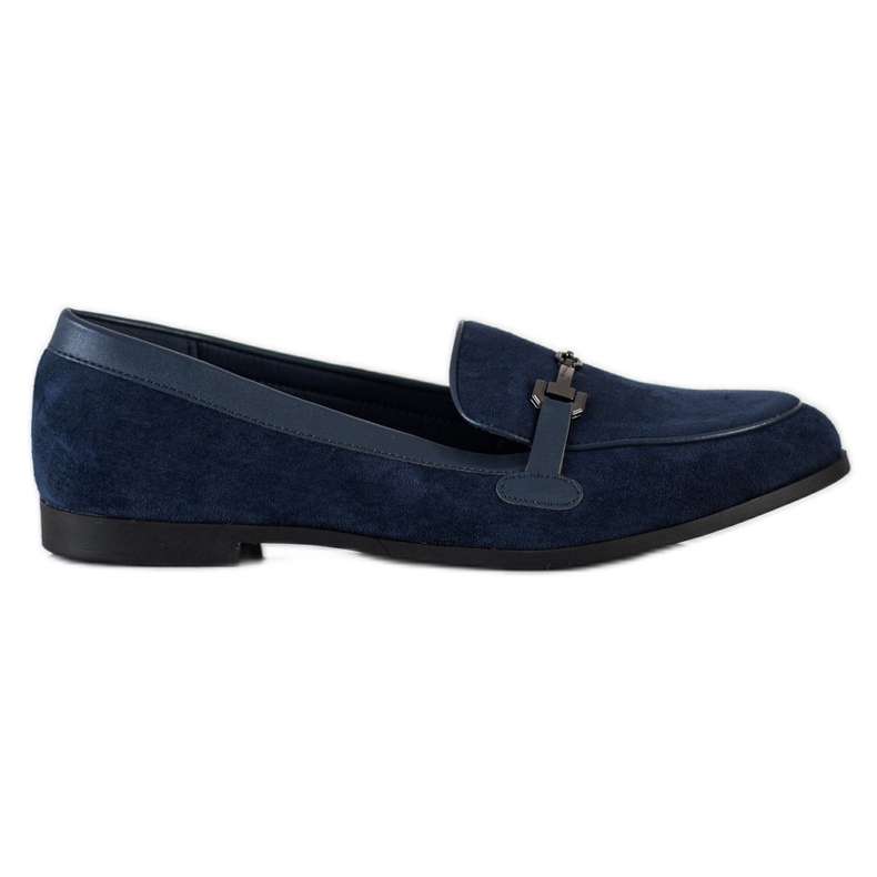 Coura Moccasins With Ornament navy