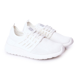 Children's Sport Shoes Sneakers Big Star HH374215 White