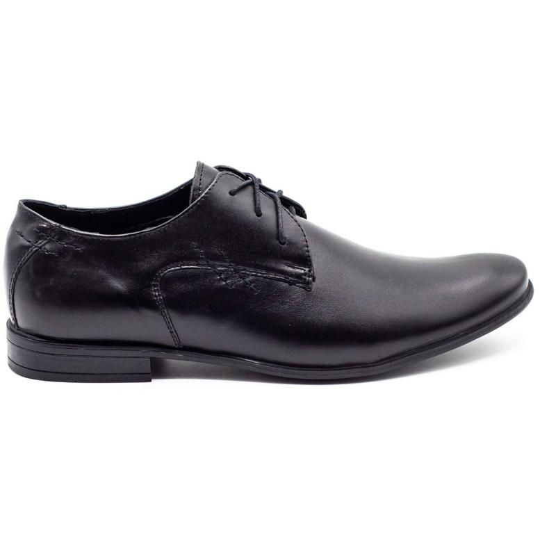 Polbut Black men's formal shoes C9
