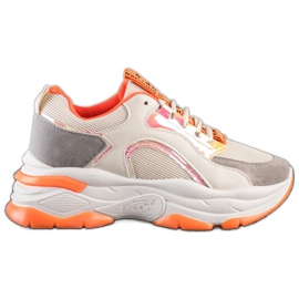 Sneakers on the FASHION platform multicolored