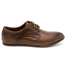 Lukas Leather shoes for men 295LU brown