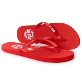 Women's flip-flops Big Star FF274A611 Red