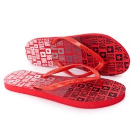 Women's Flip-flops Big Star FF274A305 Red