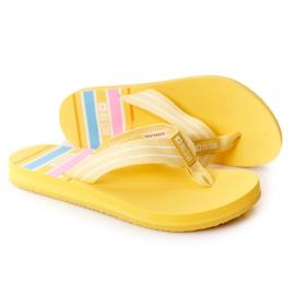 Women's Flip-flops Big Star HH274A055 Yellow
