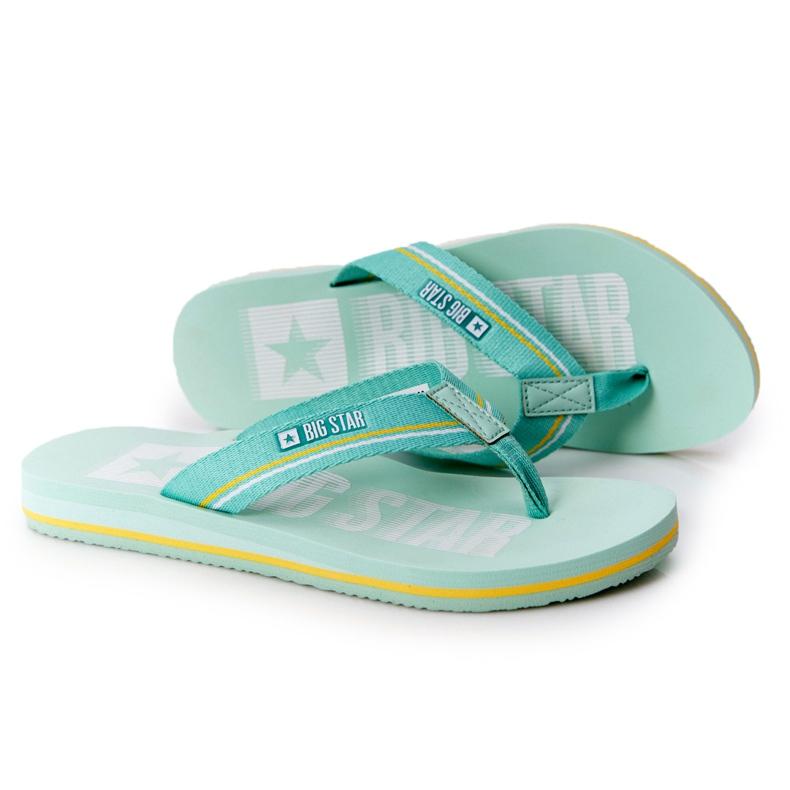 Women's Flip-flops Big Star HH274A061 Light green