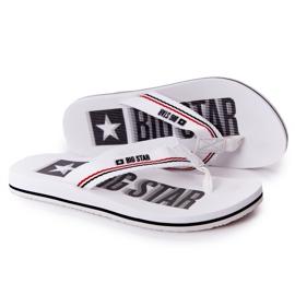 Women's Flip-flops Big Star HH274A062 White