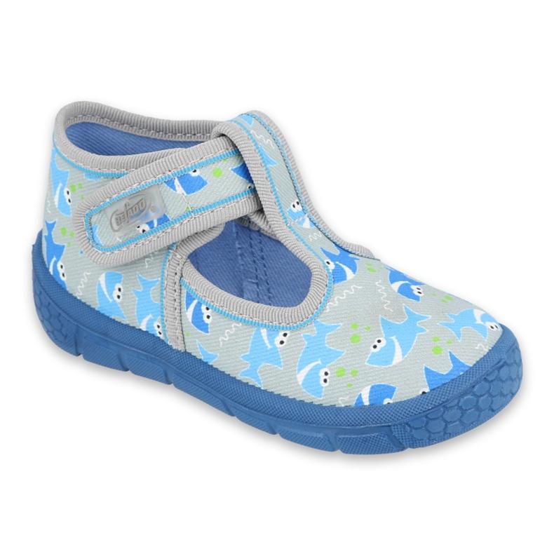 Befado children's shoes 531P091 blue grey