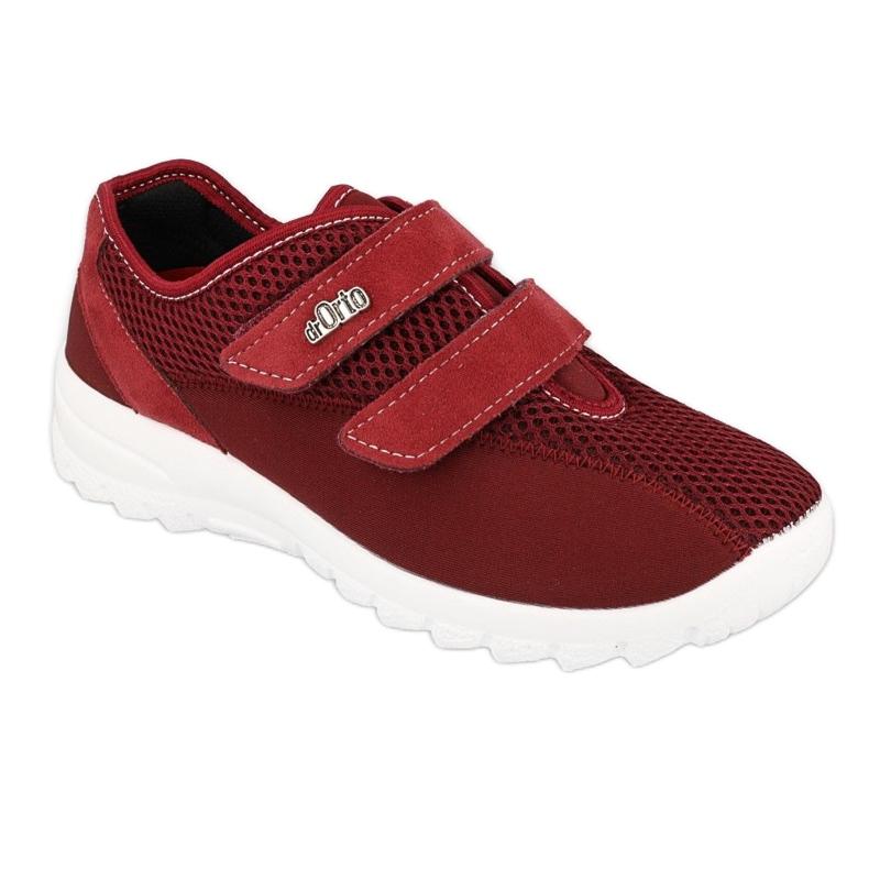 Befado women's shoes 517D015 red