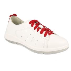 Befado women's shoes 156D008 white