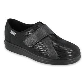 Befado women's shoes pu 039D002 black