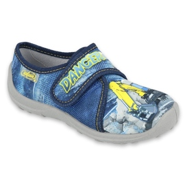 Befado children's shoes 560X149 blue grey