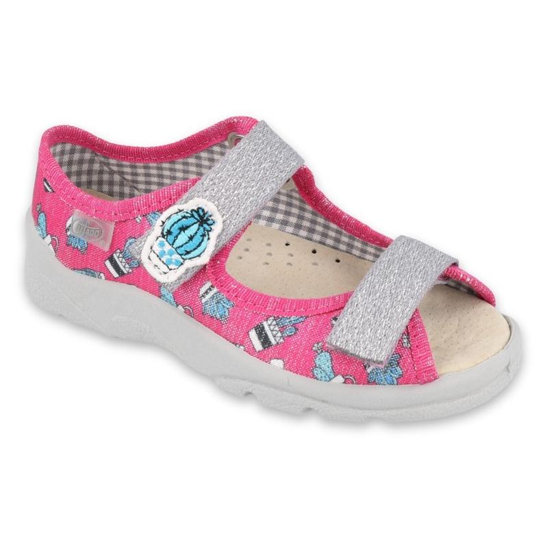 Befado children's shoes 869X152 pink grey