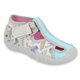 Befado children's shoes 190P098 blue grey