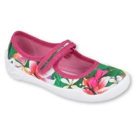 Befado children's shoes 114X431 pink green