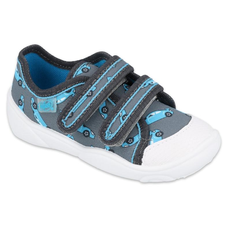 Befado children's shoes 907P132 blue grey