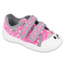 Befado children's shoes 907P131 pink grey