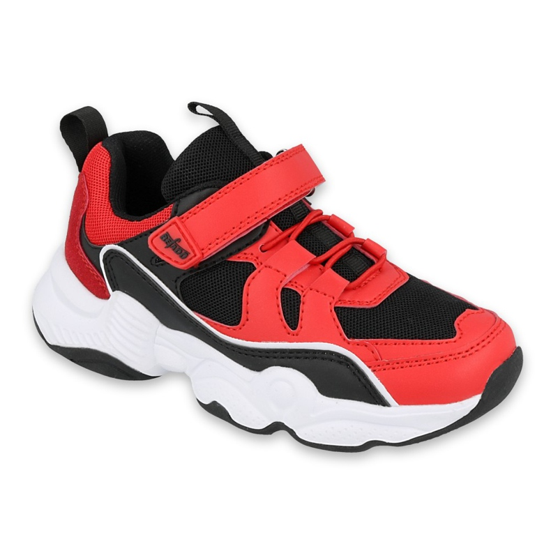 Befado children's shoes 516Y068 black red