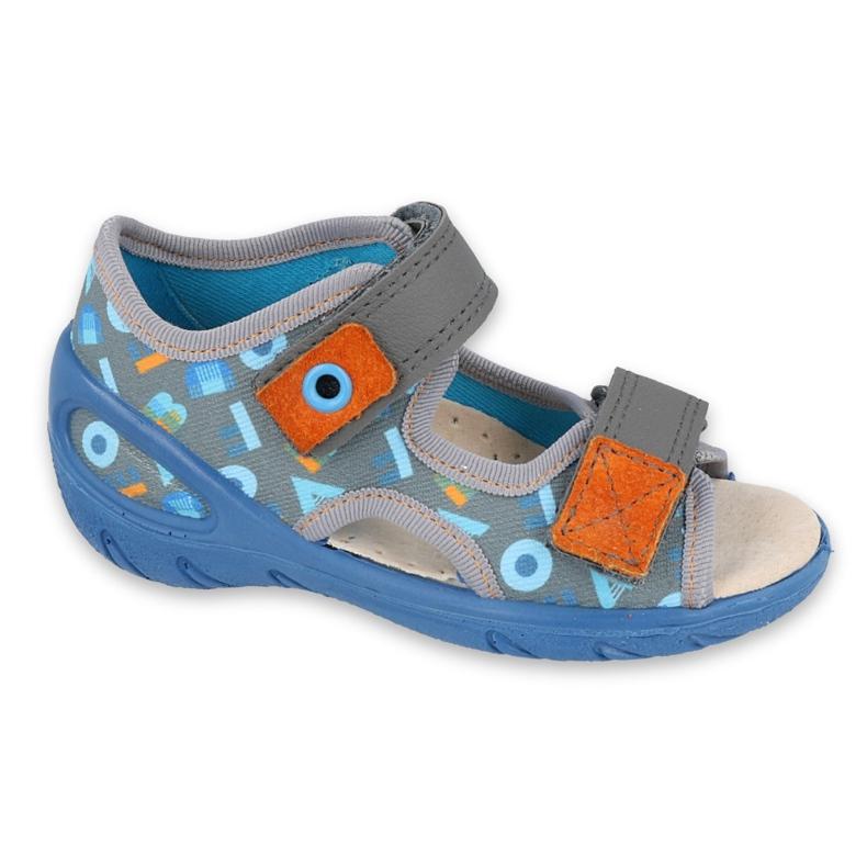Befado children's shoes pu 065X160 blue grey