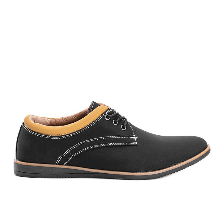Black men's shoes from Melvin