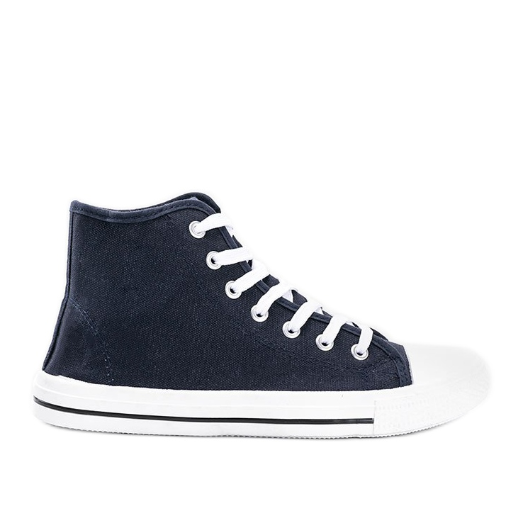 Men's navy blue sneakers Gin ankle