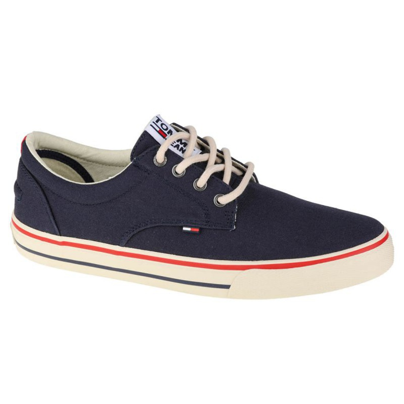 Tommy Hilfiger Jeans Textile Sneaker M EM0EM00001-006 shoes navy blue