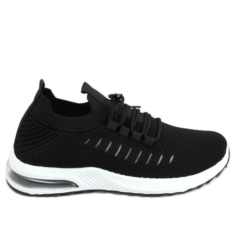 Black sports socks JHY90820 Black