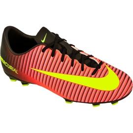 Nike Mercurial Vapor Xi Fg Jr 831945-870 football shoes multicolored red