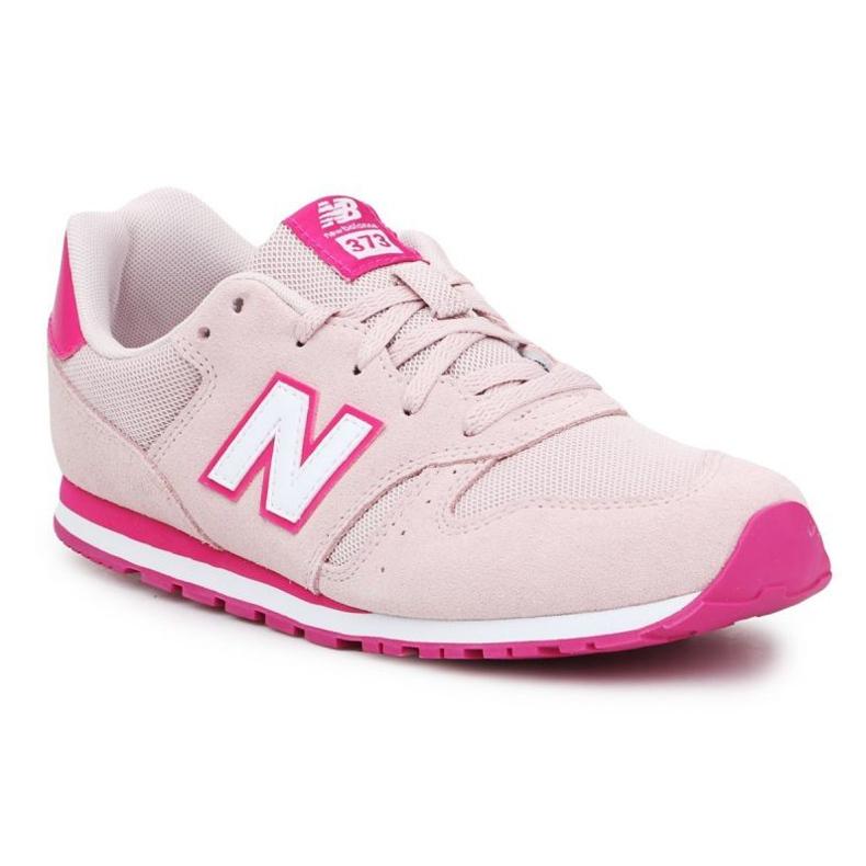New Balance Jr YC373SPW shoes orange pink
