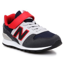 New Balance Jr YV996MNR shoes black navy blue