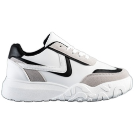 SHELOVET Casual Sneakers white multicolored