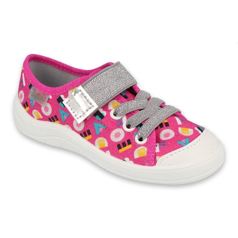 Befado children's shoes 251X181 pink grey