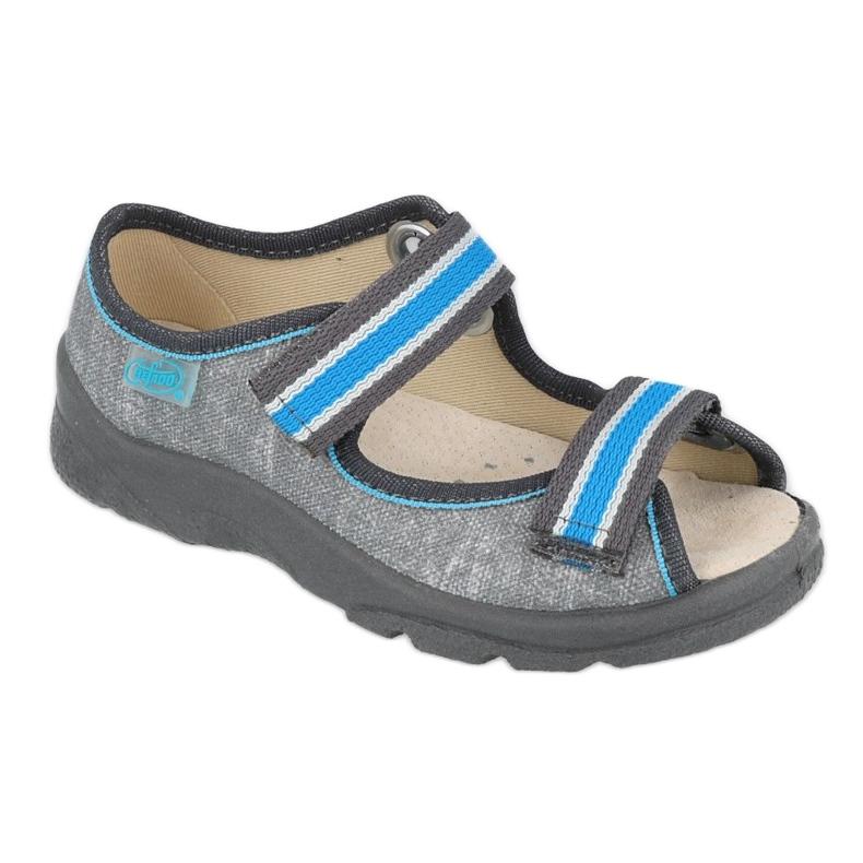 Befado children's shoes 869X157 blue grey
