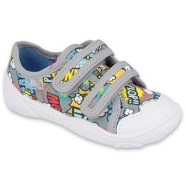 Befado children's shoes 907P120 grey multicolored