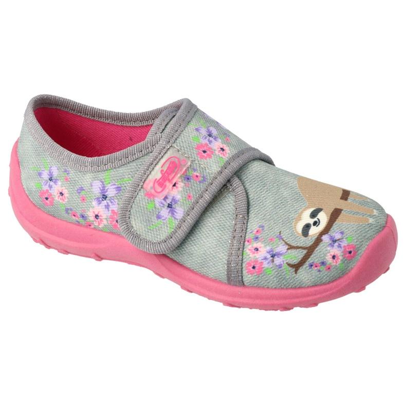 Befado children's shoes 560X171 pink grey