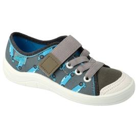 Befado children's shoes 251X163 blue grey
