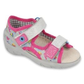 Befado children's shoes pu 065P149 pink grey