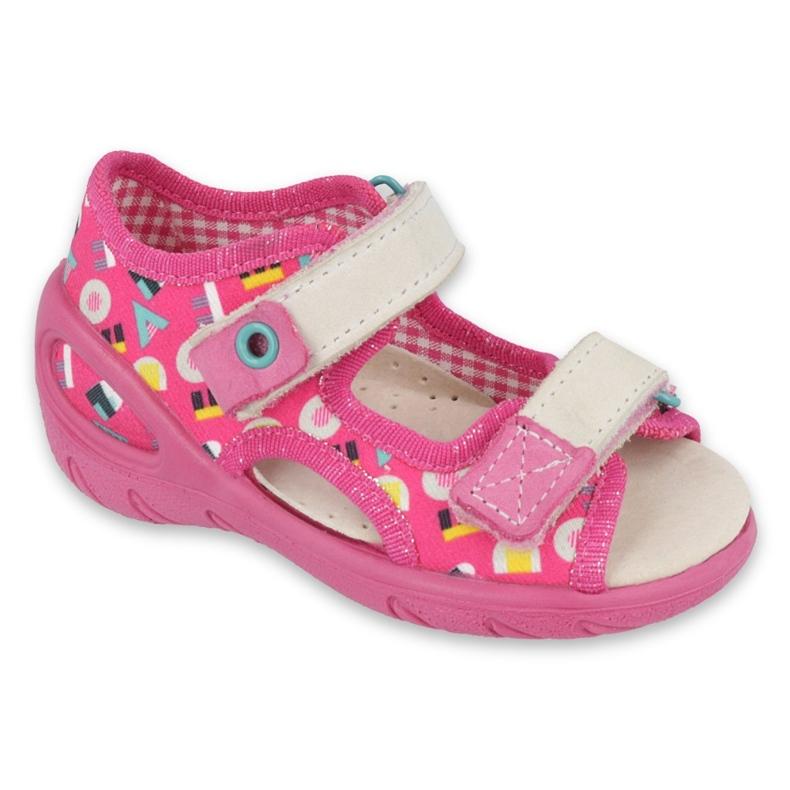 Befado children's shoes pu 065P153 pink
