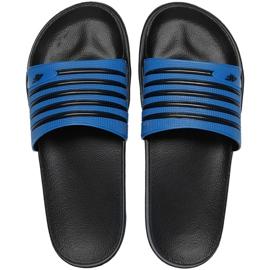 Slippers 4F M H4L21 KLM001 33S black blue