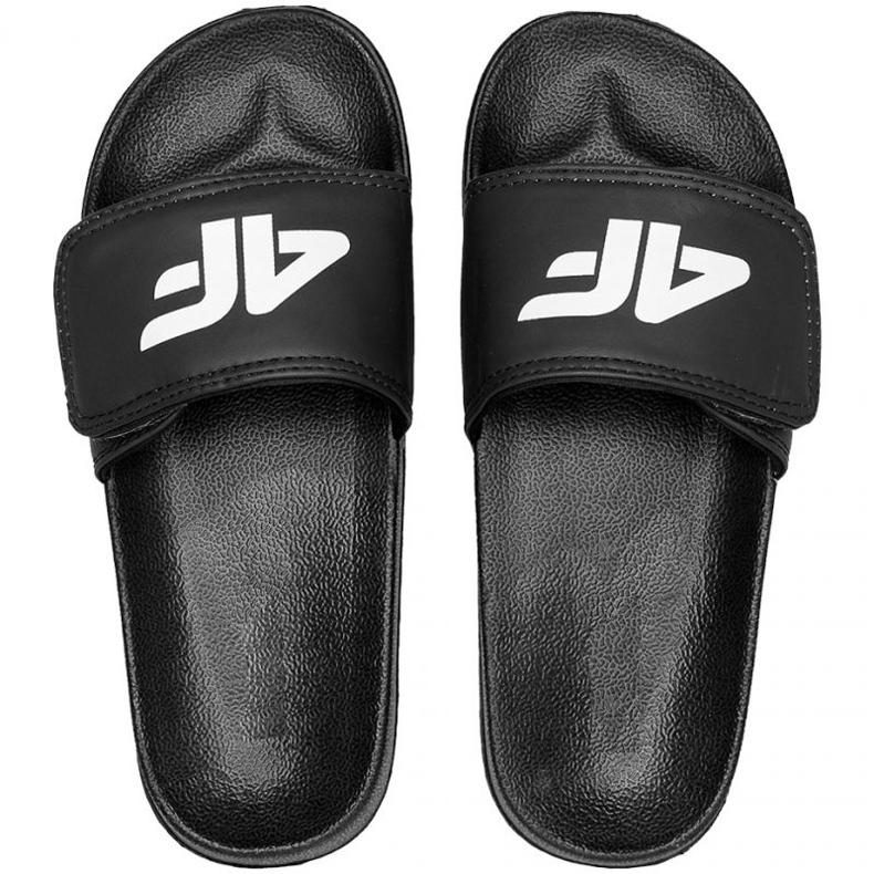 4F Jr HJL21 JKLM001 20S slippers black