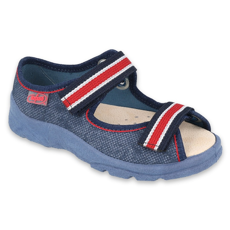 Befado children's shoes 869X160 red navy