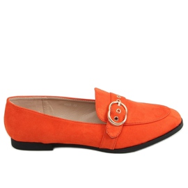 Orange women's moccasins GQ05 Orange