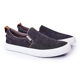 Men's Sneakers Slip-On Big Star DD174162 Gray grey