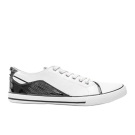 Darion men's white sneakers