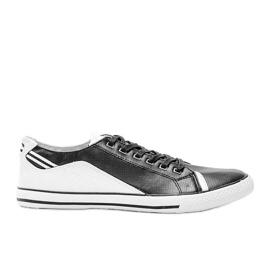 Black Darion men's sneakers