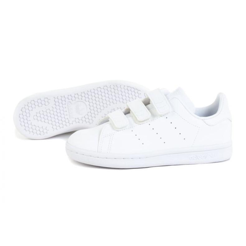 Adidas Stan Smith Jr FX7535 shoes white orange