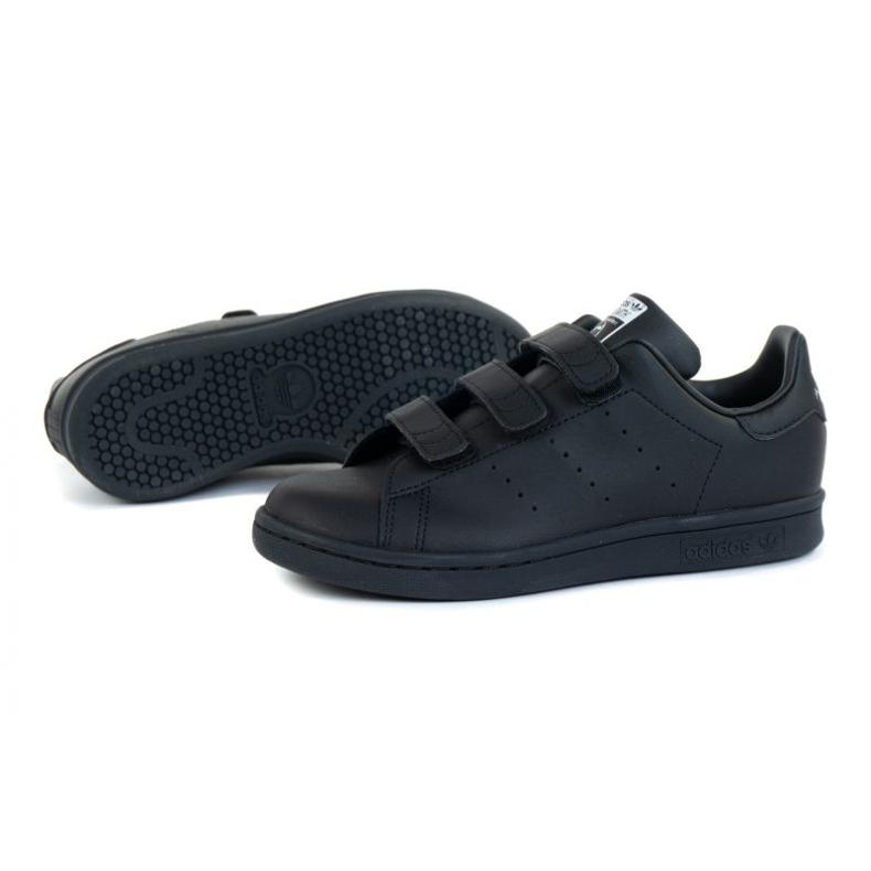 Shoes adidas Stan Smith Cf C Jr FY0969 black orange