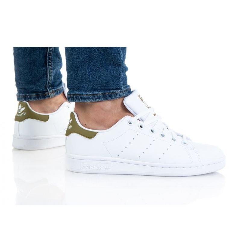 Adidas Stan Smith Jr. H68620 shoes white orange