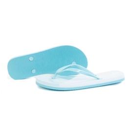 Slippers 4F W H4L21-KLD006 Light Blue