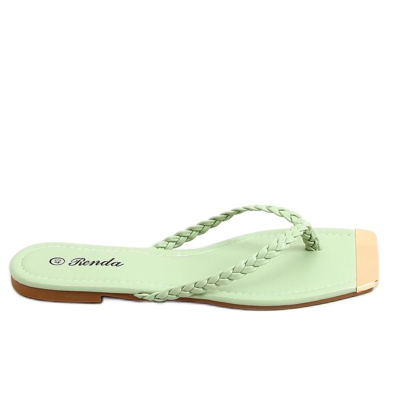 Mint flip-flops 35-220 Green
