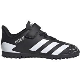 Adidas Predator 20.4 H&L Tf Jr FW9225 football boots black